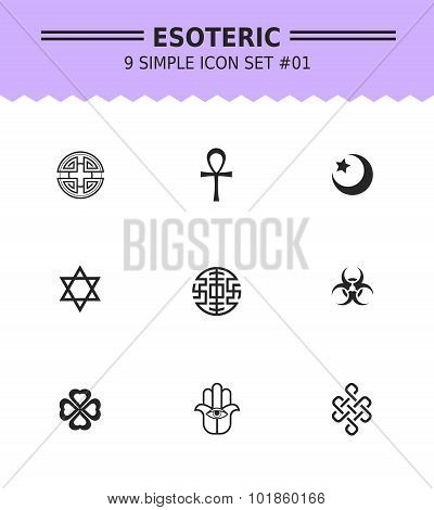 Esoteric icon set 1