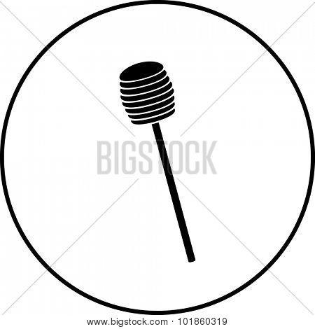 honey dipper symbol