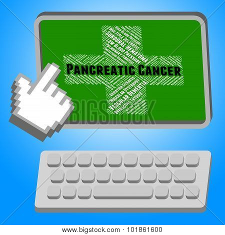 Pancreatic Cancer Indicates Cancerous Growth And Adenocarcinoma