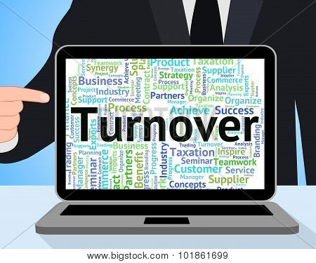 Turnover Word Means Wordcloud Text And Turnovers