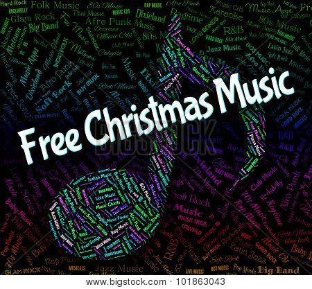Free Christmas Music Shows Sound Tracks And Yuletide