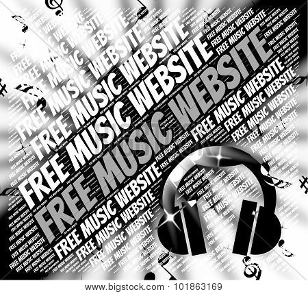 Free Music Website Represents With Our Compliments And Domains