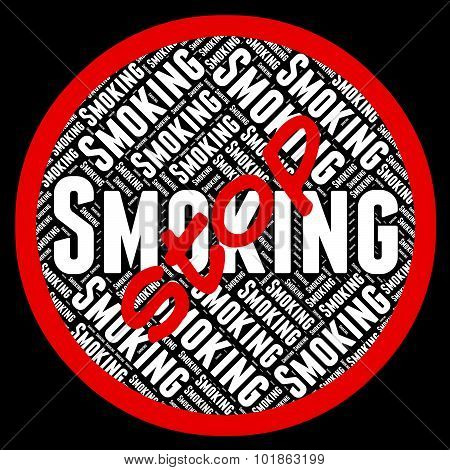Stop Smoking Represents Lung Cancer And Cigarettes