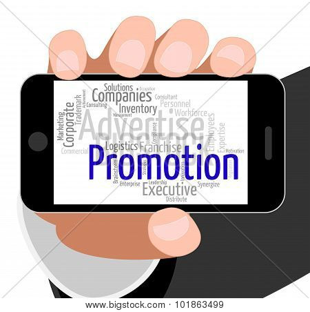 Promotion Word Means Savings Discount And Discounts