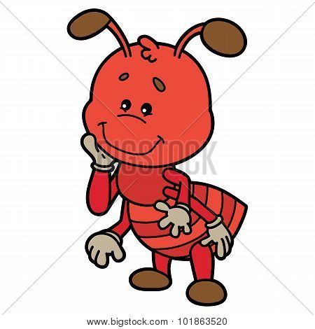 Cute ant.