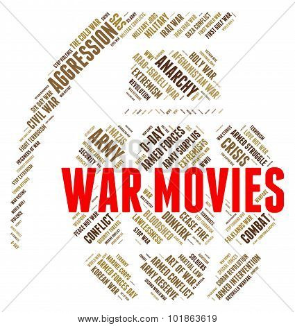 War Movies Shows Military Action And Cinema