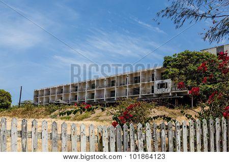 Abandoned Hotel Construction