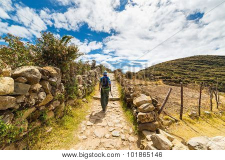 Adventures On Island Of The Sun, Titicaca Lake, Bolivia