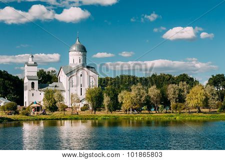 St. Alexander Nevsky Church in Gomel, Belarus. Building of Ortho