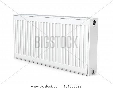 Heating Radiator  Isolated On White