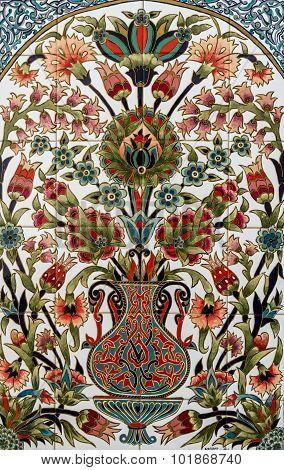 Turkish Artistic Wall Tile From Nagihan Ozsarsilmaz Pay