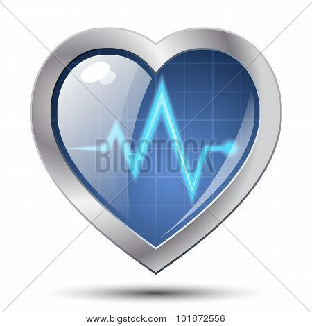 Heart Diagnostics Icon