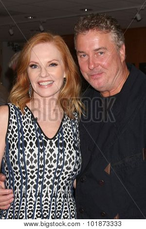 LOS ANGELES - SEP 16:  Marg Helgenberger, William Petersen at the PaleyFest 2015 Fall TV Preview -