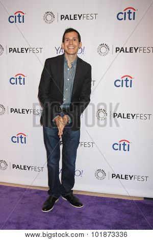 LOS ANGELES - SEP 16:  Jon Wellner at the PaleyFest 2015 Fall TV Preview -