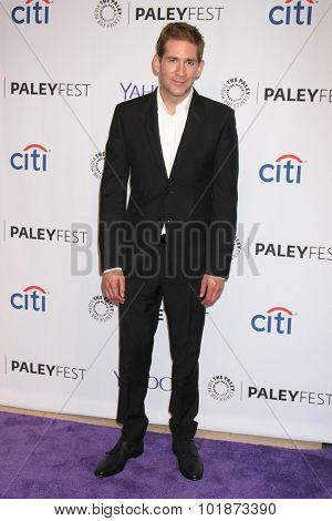 LOS ANGELES - SEP 16:  Eric Szmanda at the PaleyFest 2015 Fall TV Preview -