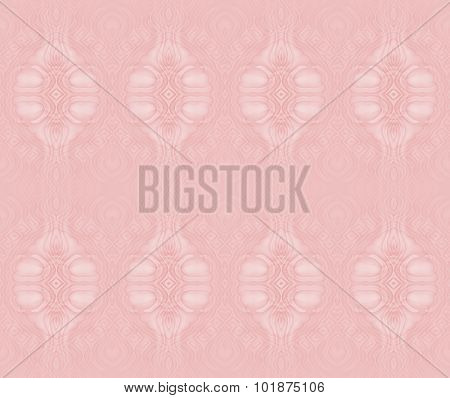 Seamless ellipses pattern pink