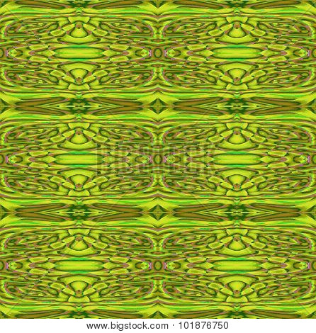 Seamless ornaments green brown