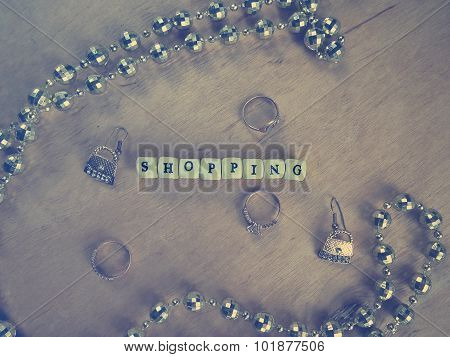 Title of beads - shopping and jewelry