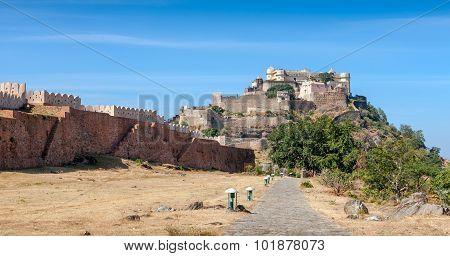 Kumbhalgarh Fort, Rajasthan, India, Azia