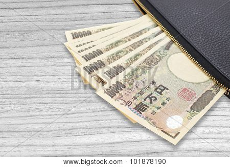 Japanese yen currency