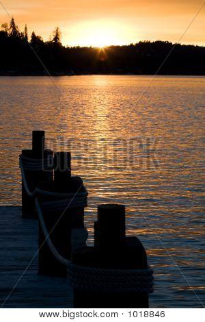 Lake Sunset 2