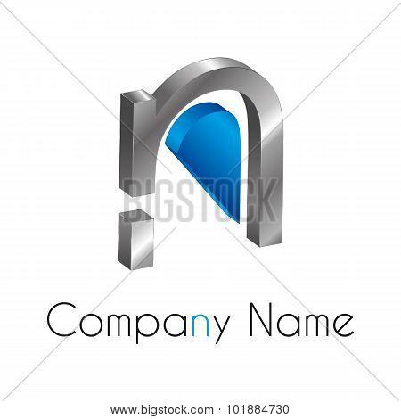 Letter Logo N