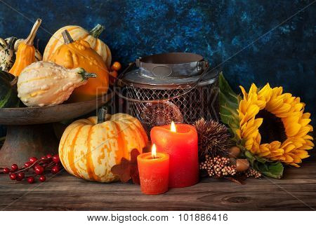 Autumn Thanksgiving Decor
