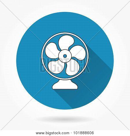 Electric Fan Icon