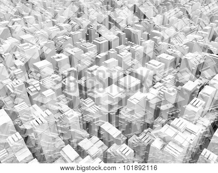 Abstract 3D Geometric Digital Background Texture