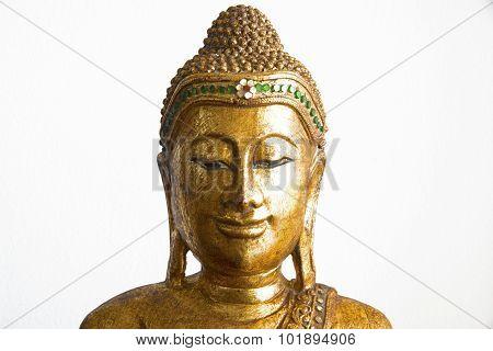 Sculpture Of Buddha Head