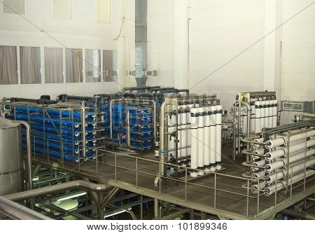 filter system at a large company