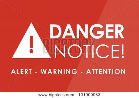 Danger Notice