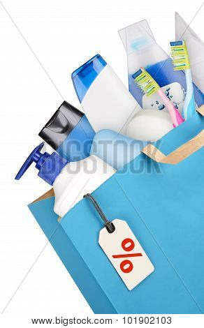 Bag With Detergents
