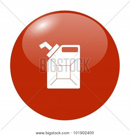 Jerrycan Oil Vector Icon