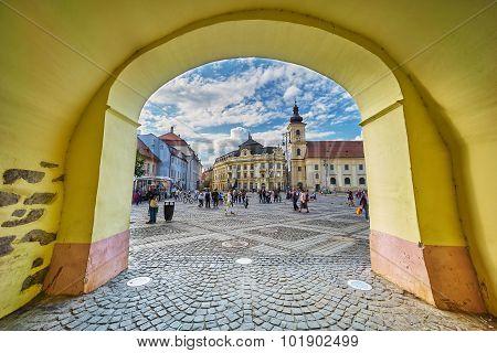 Sibiu Archway View