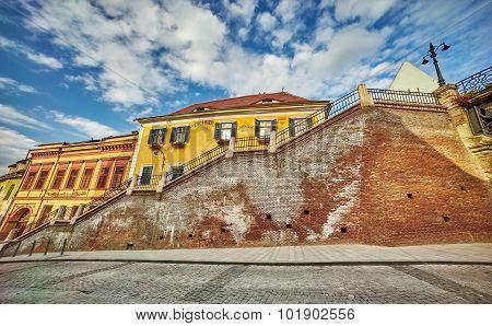 Stairway In Sibiu