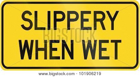 Slippery When Wet In Canada