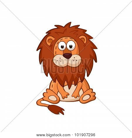 Cartoon lion