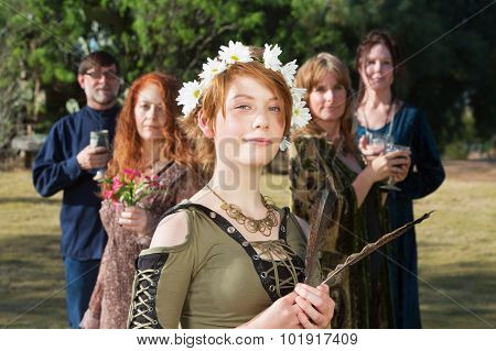 Confident Modern Witch