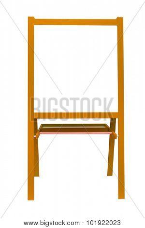 white board easel