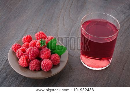 Raspberry And Juice