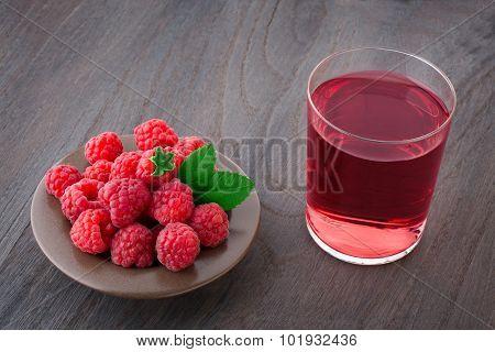 Raspberry And Juice