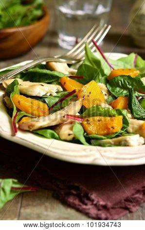 Warm Chard Salad.