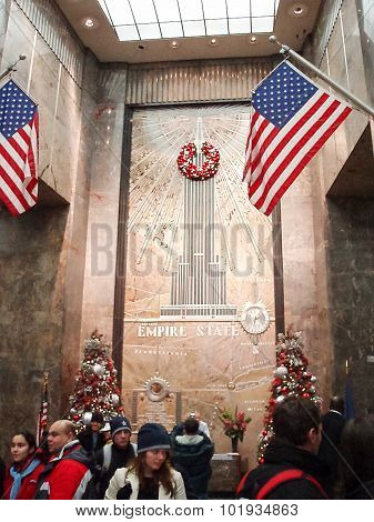 Empire State Building Entrance Hall