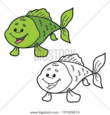funny fish.