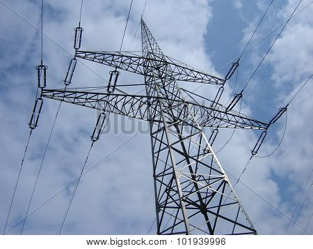 High-voltage Line Pylon