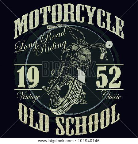 Motorcycle Racing Typography Graphics. Racing. T-shirt Design, v