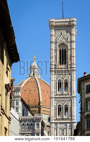 Dome And Giotto Tower