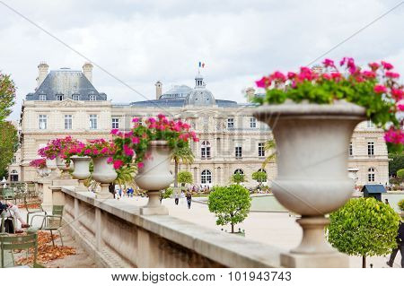 Luxemburg Garden, Paris