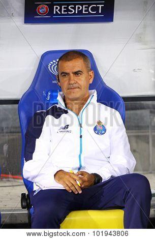 Fc Porto Coach Rui Gil Soares Barros